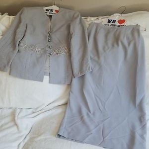 💝$10 Bundle Nolan Miller jacket and skirt set Sz8